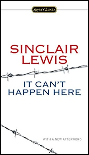 It can't happen here book cover