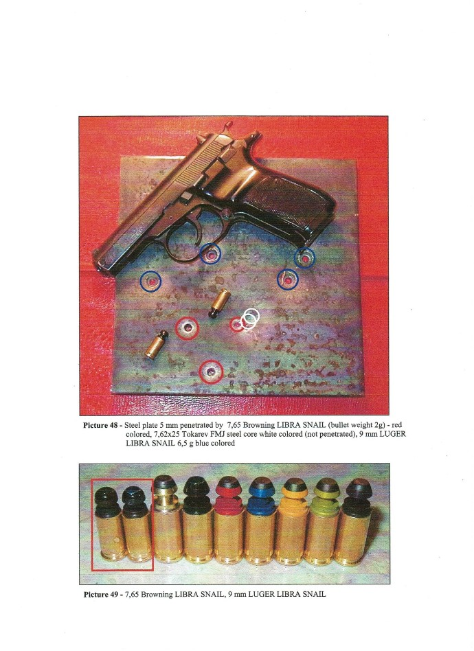 guns capable of penetrating bulletproof vests and metals