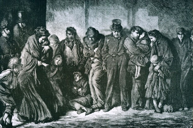 homeless in Victorian London